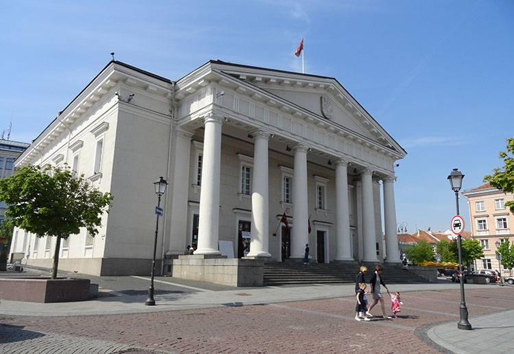 ratusz Wilno ciekawostki atrakcje zabytki Litwa