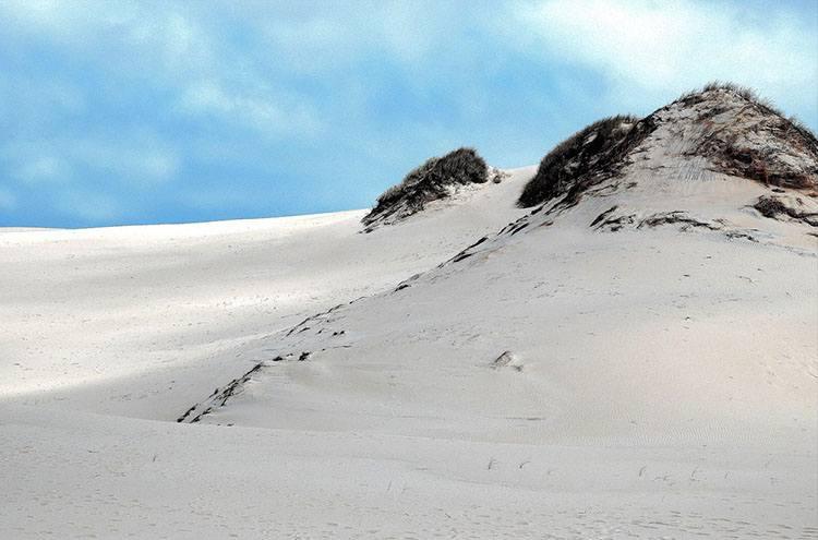 ruchome wydmy Słowiński Park Narodowy Łeba ciekawostki atrakcje
