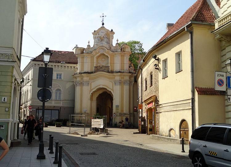 stare miasto kościół Wilno ciekawostki atrakcje zabytki Litwa