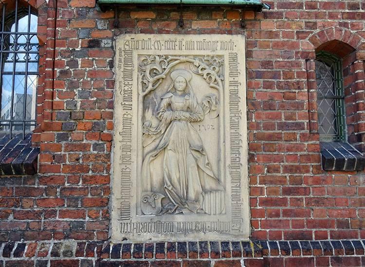 tablica kościół Syców ciekawostki atrakcje zabytki