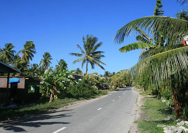 wyspa Funafuti Tuvalu ciekawostki atrakcje