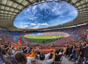 AS Roma stadion Stadio Olympico Rzym Włochy piłka nożna ciekawostki