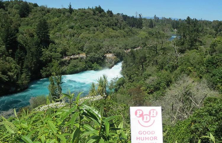 Huka Falls Nowa Zelandia ciekawostki