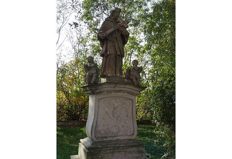 św. Nepomucen figura Czeladź ciekawostki zabytki atrakcje