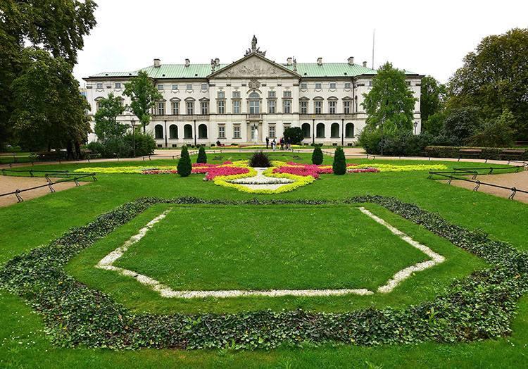 pałac Krasińskich Warszawa parki ciekawostki park stolica