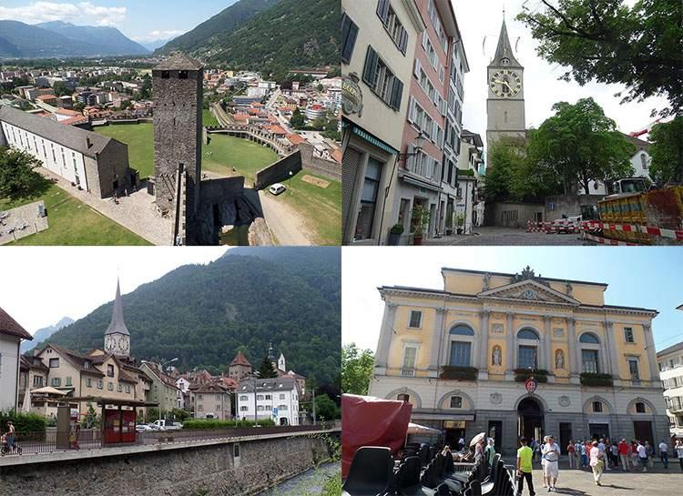 Szwajcaria ciekawostki atrakcje zabytki