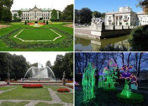 Warszawa parki ciekawostki park stolica