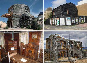 ekologia budownictwo domy z recyklingu ekologiczne