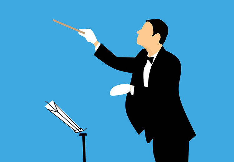 dyrygenci kawały dowcipy o dyrygentach humor dyrygent koncert filharmonia orkiestra