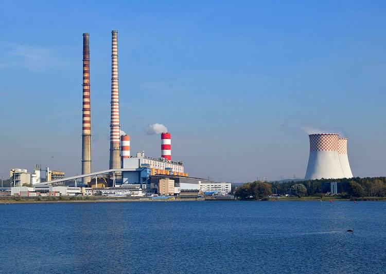 elektrownia zalew jezioro Rybnik ciekawostki atrakcje zabytki