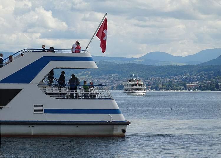 jezioro Zuryskie Zurych-ciekawostki atrakcje Szwajcaria