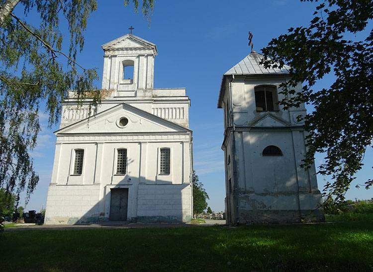 kapica kościół Michała Archanioła Rejowiec ciekawostki zabytki atrakcje