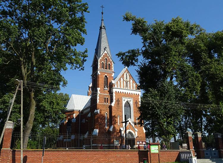 kościół Jozafata miasto Rejowiec ciekawostki zabytki atrakcje