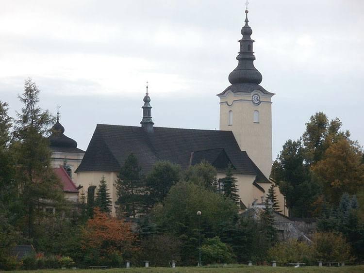 kościół św. Katarzyny miasto Nowy Targ ciekawostki atrakcje zabytki Podhale