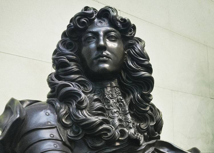 król Ludwik XIV krawat historia krawaty ciekawostki