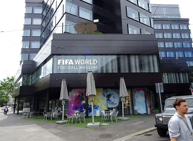 muzeum FIFA Zurych Szwajcaria ciekawostki piłka nożna sport