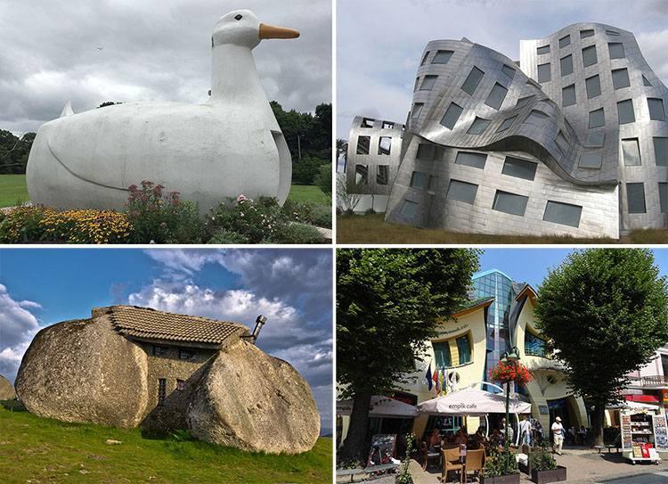 najdziwniejsze budowle świata architektura
