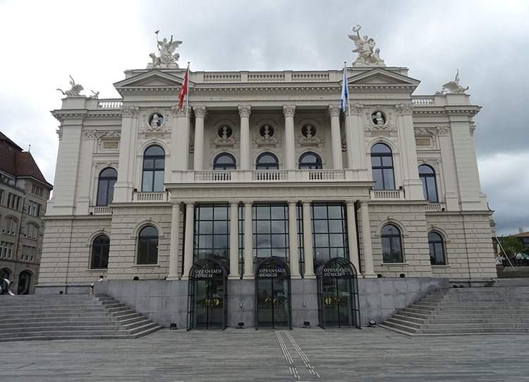 opera Zurych ciekawostki atrakcje Szwajcaria