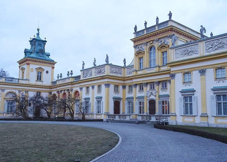 pałac Wilanów Warszawa parki ciekawostki park stolica