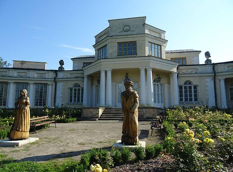 pałac Zaleskich Ossolińskich Rejowiec ciekawostki zabytki atrakcje
