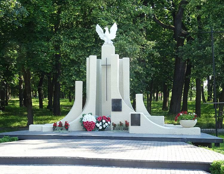 pomnik Rejowiec Fabryczny ciekawostki informacje atrakcje miasto lubelskie