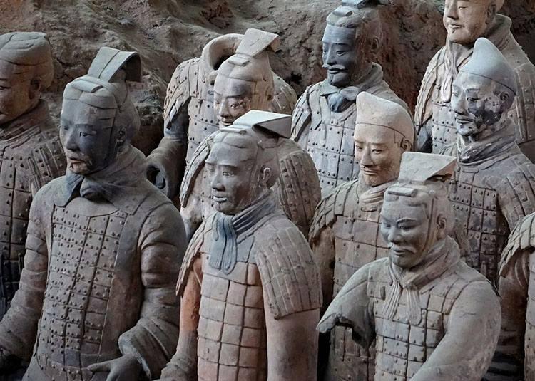 terakotowa armia Chiny krawat historia krawaty ciekawostki