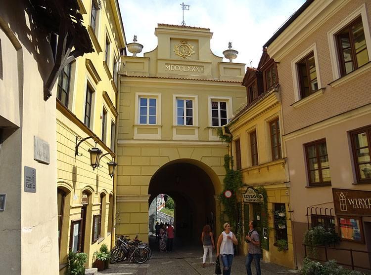 Brama Grodzka Lublin ciekawostki atrakcje zabytki