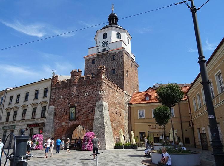 Brama Krakowska Lublin ciekawostki atrakcje zabytki