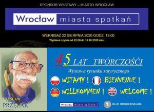 Czesław Przęzak wystawa Wrocław