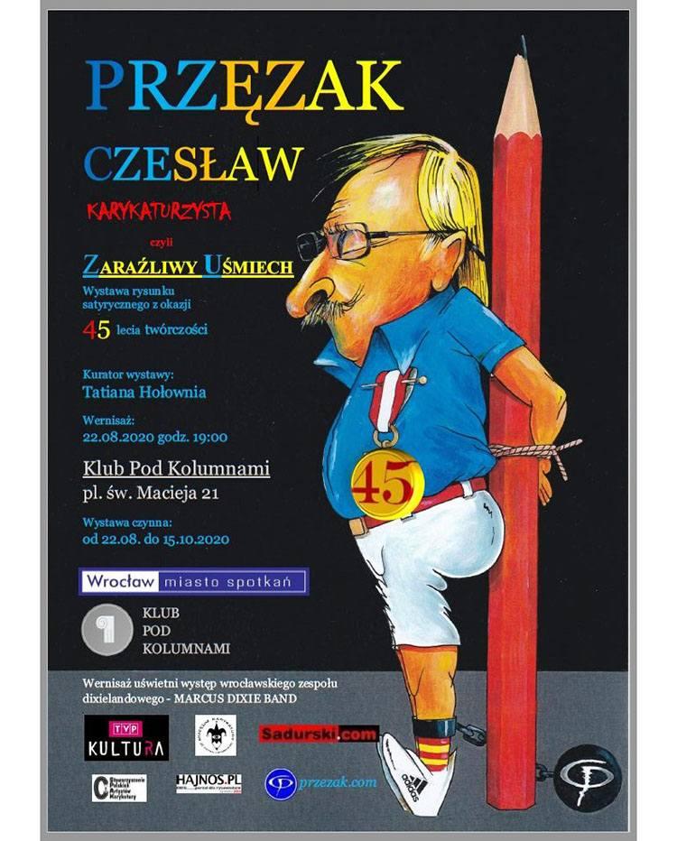 Czesław Przęzak wystawa plakat wystawy Wrocław