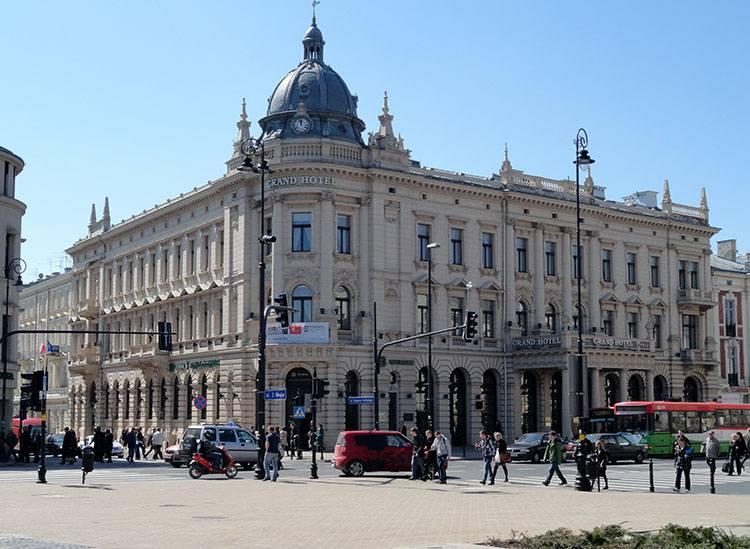 Grand Hotel Lublin ciekawostki atrakcje zabytki