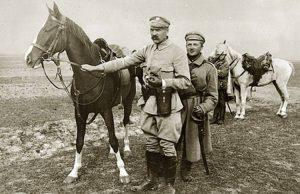Józef Piłsudski Kasztanka Mińsk Mazowiecki ciekawostki atrakcje