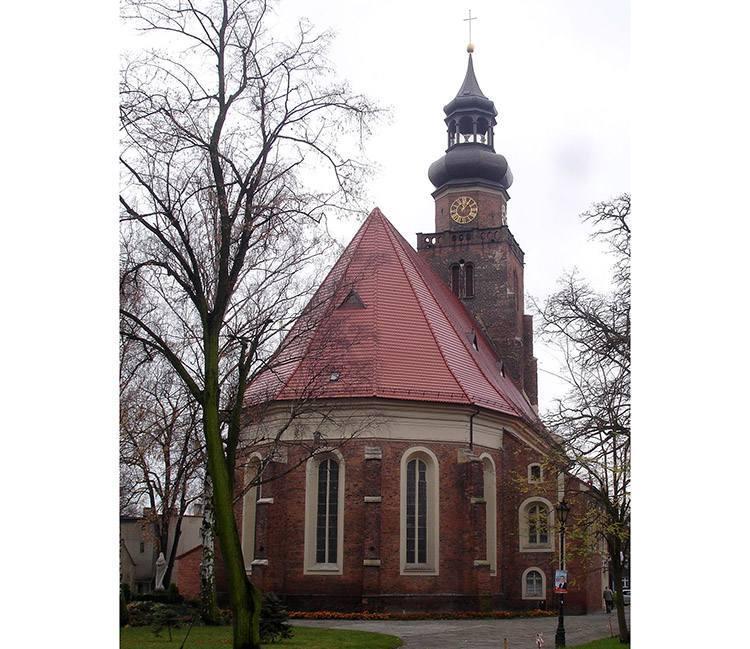 kościół św. Jana Leszno zabytki atrakcje ciekawostki Wielkopolska