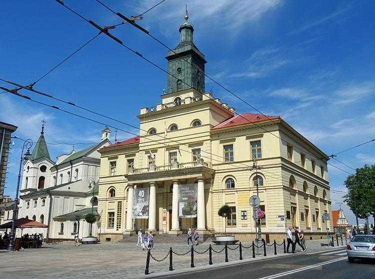 Nowy Ratusz Lublin ciekawostki atrakcje zabytki