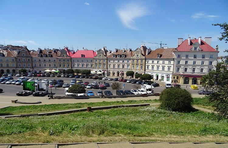 Plac Zamkowy Lublin ciekawostki atrakcje zabytki