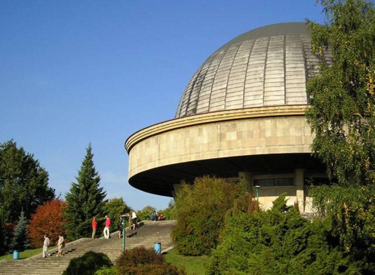 Planetarium Śląskie Chorzów ciekawostki atrakcje zabytki