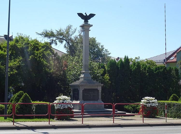Pomnik Powstania Styczniowego Zambrów ciekawostki atrakcje