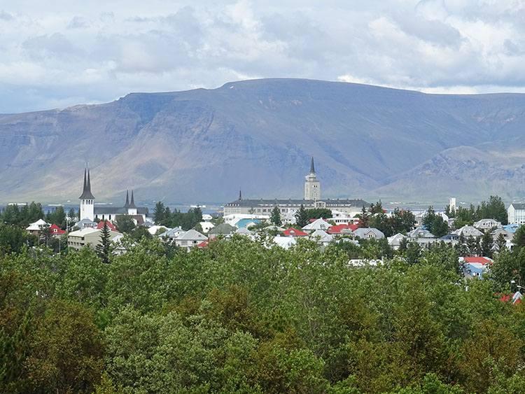 Reykjavik atrakcje ciekawostki Islandia