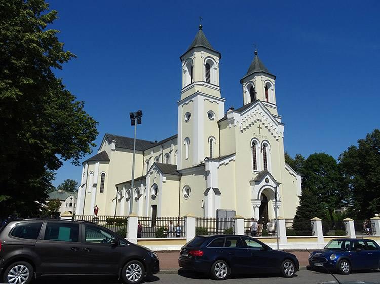 kościół św. Trójcy Zambrów ciekawostki atrakcje