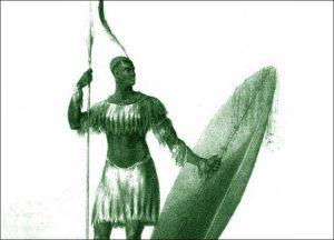 Zulus Czaka Zulusi Afryka