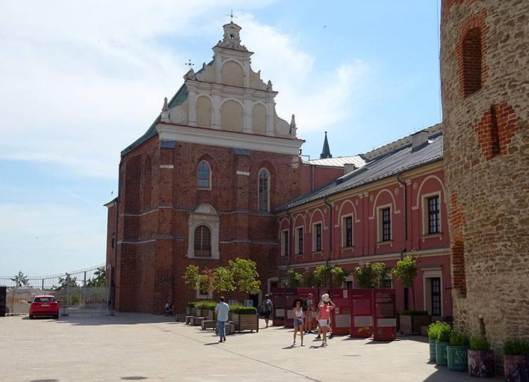 kaplica Trójcy świętej Lublin ciekawostki atrakcje zabytki