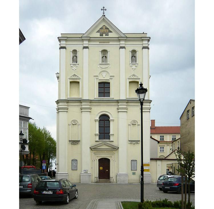 kościół św. Franciszka Ksawerego Grudziądz ciekawostki zabytki atrakcje