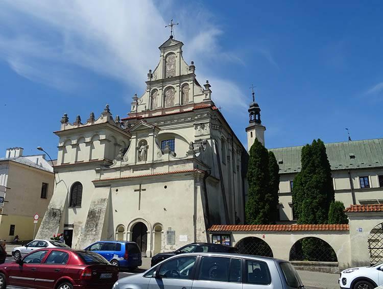 kościół Bernardynów św. Józefa Lublin kościoły Lublina zabytki ciekawostki świątynie