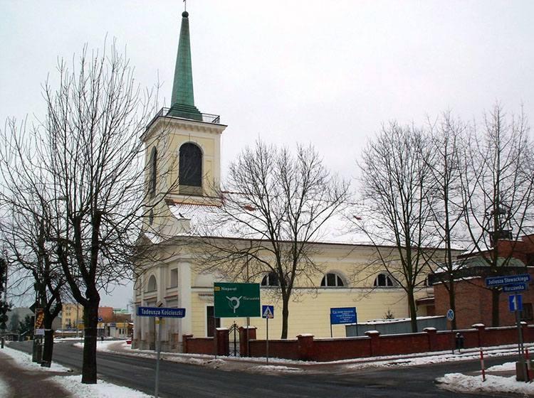 kościół św. Michała Archanioła Nowy Dwór Mazowiecki ciekawostki