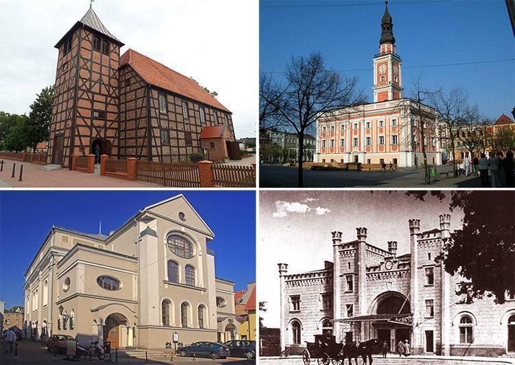 miasto Leszno zabytki atrakcje ciekawostki Wielkopolska
