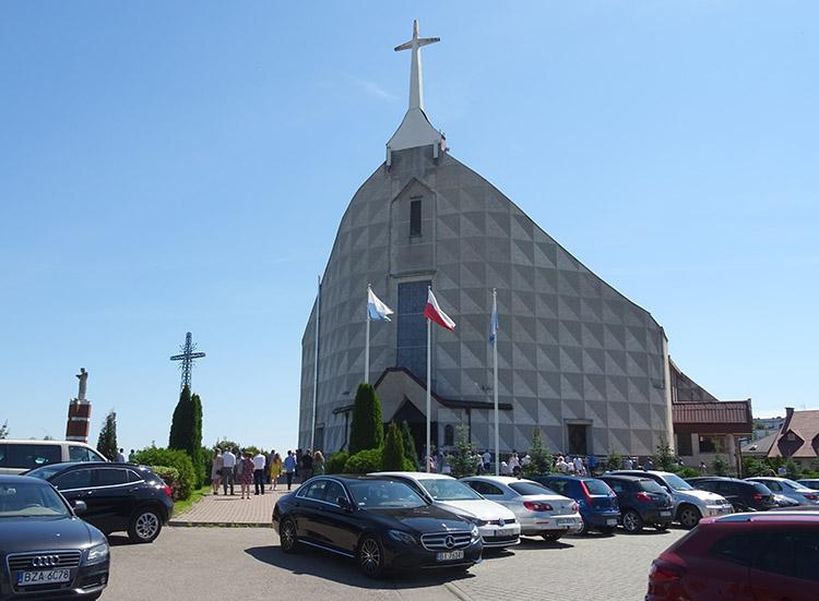 kościół Zambrów ciekawostki atrakcje miasto