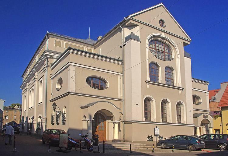 nowa synagoga galeria  Leszno zabytki atrakcje ciekawostki Wielkopolska
