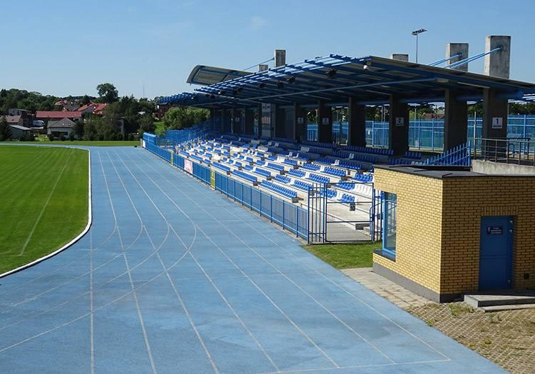 stadion miejski Zambrowski Klub Sportowy Olimpia Zambrów ciekawostki atrakcje