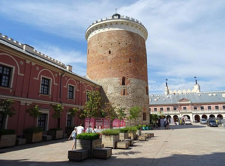 wieża zamkowa Lublin ciekawostki atrakcje zabytki