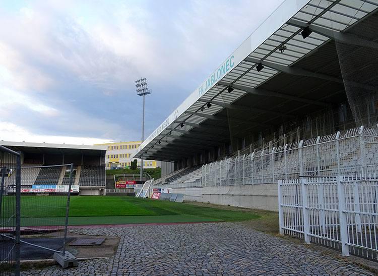 stadion FK Jablonec nad Nysą Nisou Czechy ciekawostki zabytki